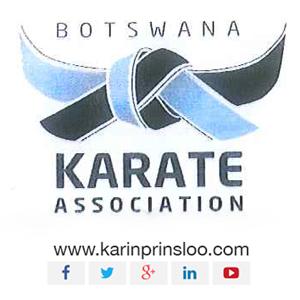 Karin Prinsloo Karate Botswana National Team