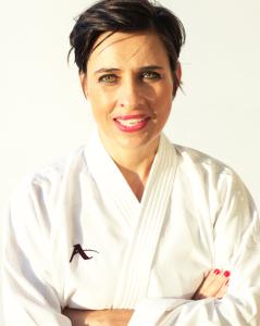 Karin Prinsloo 6th Dan JKA (Japanese Karate Association) Based in Durban South Africa.