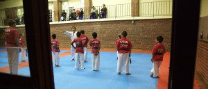 Karin Prinsloo Karate Teaching Student 7