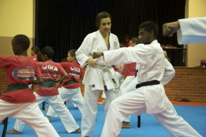Karin Prinsloo Karate Teaching Student 8